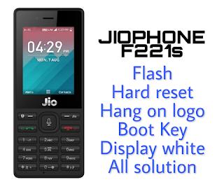 LYF Jio  F221s Flash File & Tool