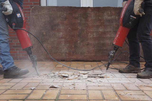 demolizione-martello pneumatico-casa