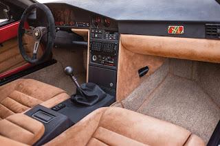 1985 Lancia Delta S4 Interior