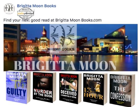 Brigitta Moon Books The Marston Series