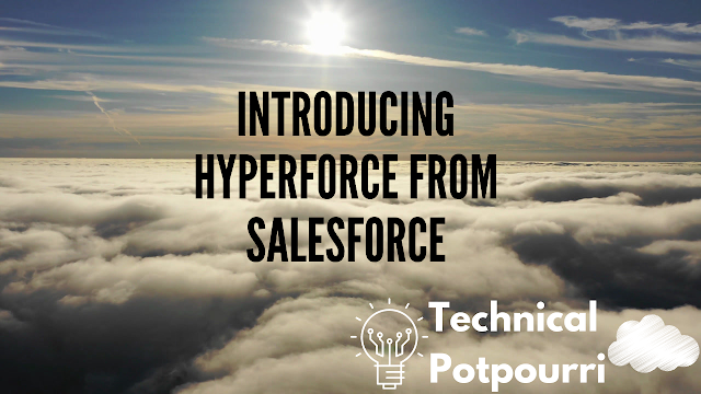 With Hyperforce, Salesforce will allow you to move your data to any public cloud