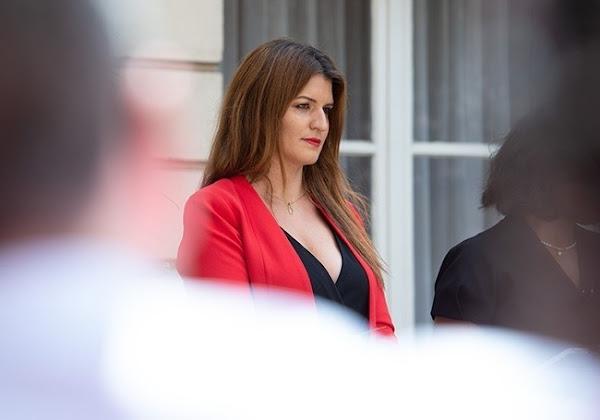 """Loi """"Sécurité globale"""" : Marlène Schiappa apporte son soutien aux forces de l'ordre"""