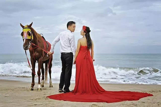 paket foto prewedding honeymoon Bangka Belitung