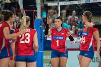 VOLEIBOL - Las checas levantan su segunda Liga Europea ante las anfitrionas, con España a la orilla de las medallas