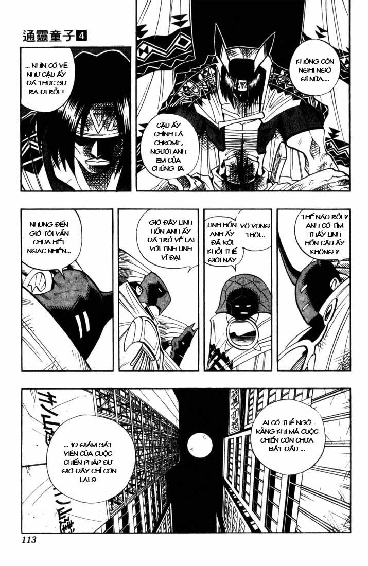 Shaman King [Vua pháp thuật] chap 32 trang 6