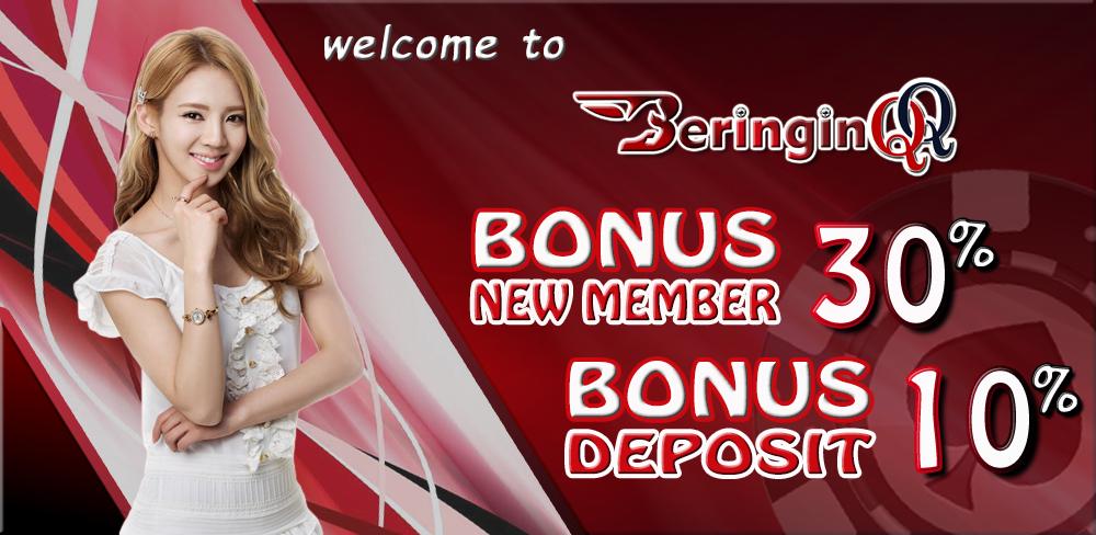 Bonus New Member 30% Poker Online Terpercaya