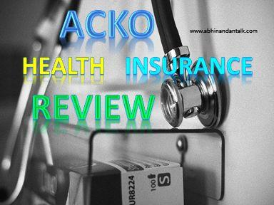 acko health  insurance review in hindi