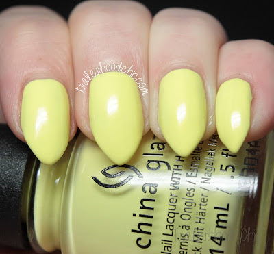 china glaze lite brites collection swatch whip it good