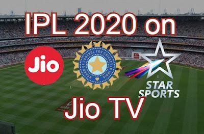IPL live 2020 on jiotv