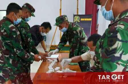 Jamin Siap Operasi, Brigjend Jannie Tes Narkoba Anggota Korem Kendari