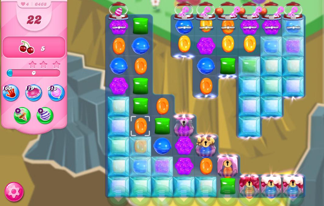 Candy Crush Saga level 6468