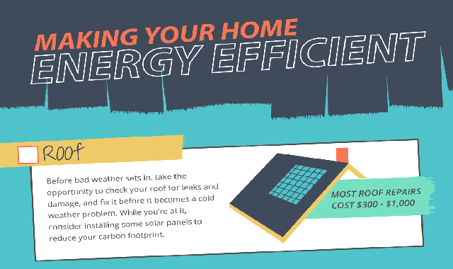 Making Your Home Energy Efficient #infographic