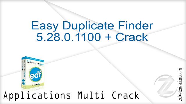 Easy Duplicate Finder 5.28.0.1100 + Crack