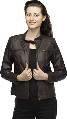 Comfort Zonee Women's PU Leather Jacket
