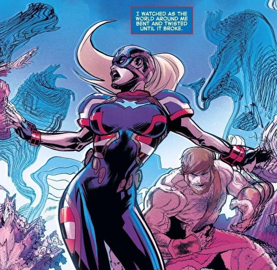 Próximo Capitão América será uma mulher