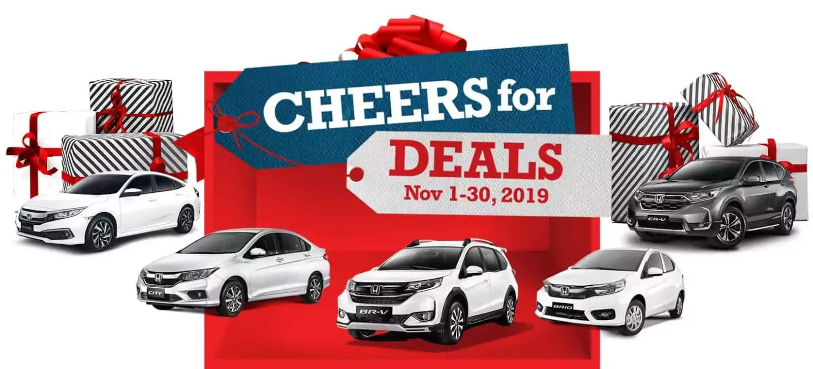 Honda Cheers for Deals Holiday Promo