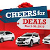 "Honda ""Cheers for Deals"" Holiday Promo Announced!"