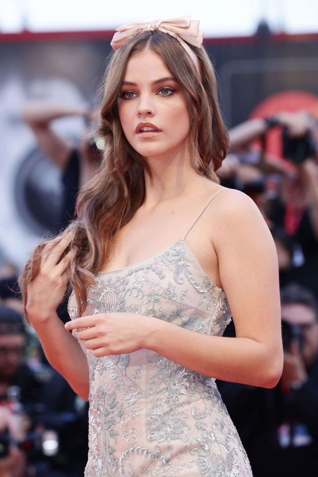 Barbara Palvin at the Screening of 'Joker' at the 76th Venice Film Festival