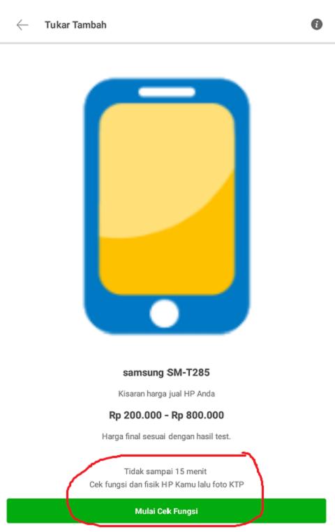 Mulai Cek Fungsi Handphone Anda