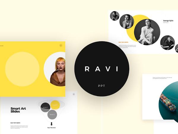 Download Ravi Powerpoint & Keynote Template Free