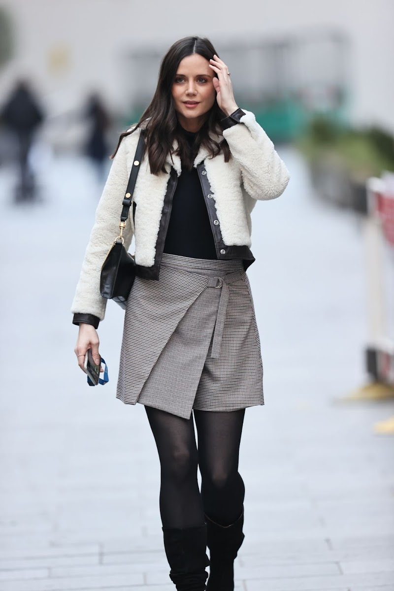 Lilah Parsons Leaves Heart Radio in London 31 Dec-2020