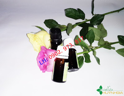 Tinh dầu hoa hồng nguyên chất tại TPHCM