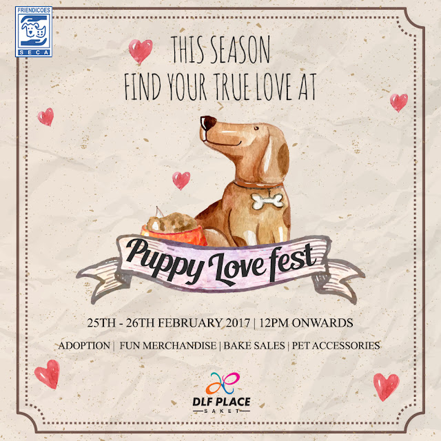 Find your true love at Puppy Love Fest @ DLF Place, Saket