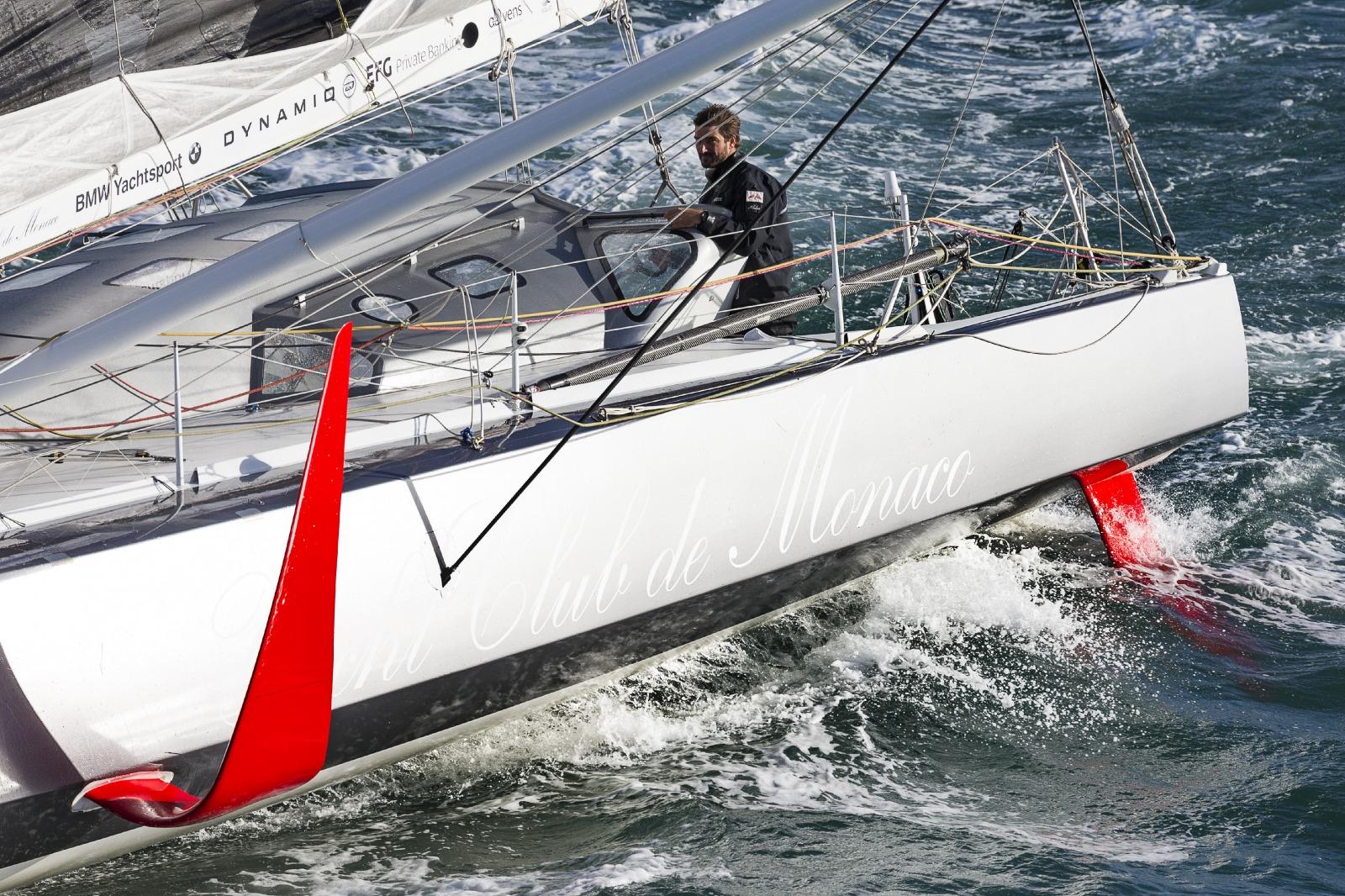 transat jacques vabre 2017 gitana leads catamaran racing news design