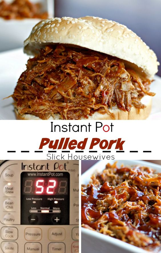 Easy Pulled Pork Recipe using Instant Pot #recipes #dinnerrecipes #quickdinnerrecipes #easydinnerrecipes #goodquickandeasydinnerrecipes #food #foodporn #healthy #yummy #instafood #foodie #delicious #dinner #breakfast #dessert #lunch #vegan #cake #eatclean #homemade #diet #healthyfood #cleaneating #foodstagram