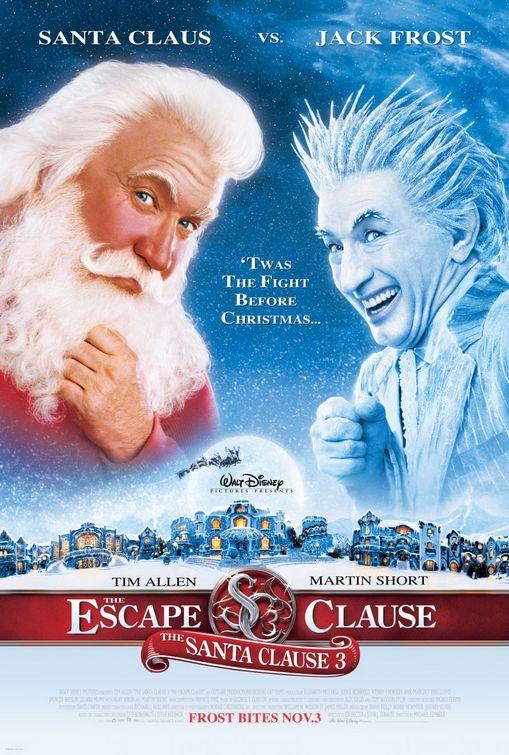 Santa Clause 3 Escape Clause poster