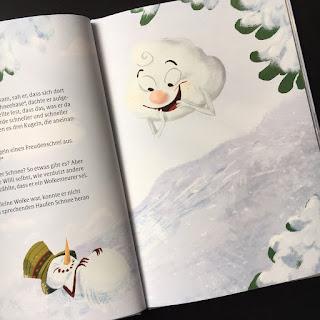 Willi Wolke und der kleine Schneemann Rachel Wolke Bilderbuch Abschiednehmen Tod Verlust Trauer Winter