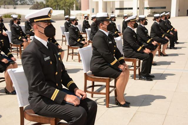 Se gradúan 62 discentes de la Escuela de Posgrados de Sanidad Naval del Centro de Estudios Navales en Ciencias de la Salud