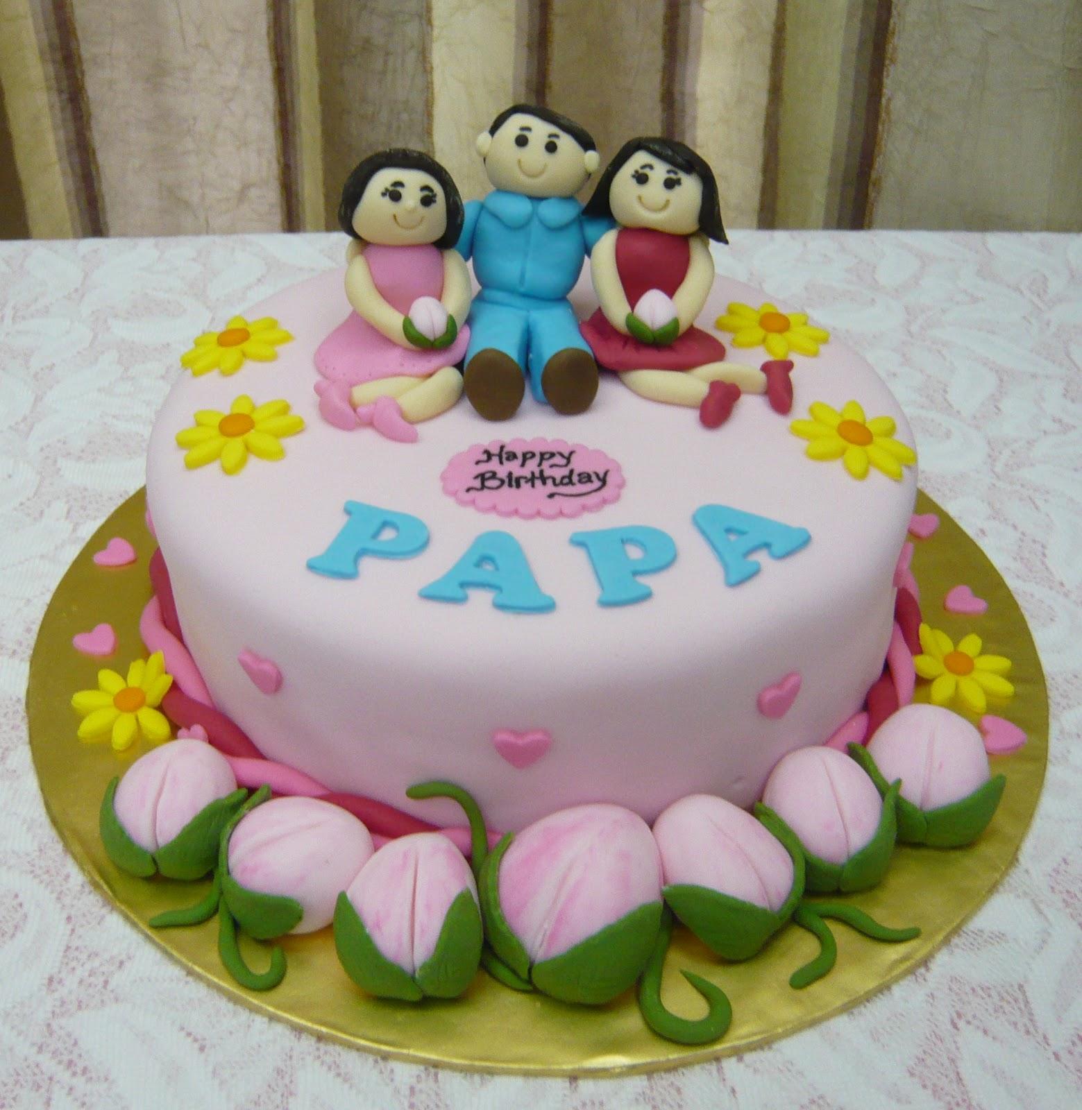 Jenn Cupcakes Muffins Happy Birthday Papa