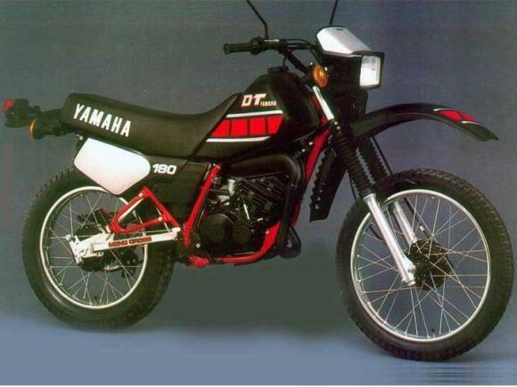 Ficha técnica Yamaha DT 180