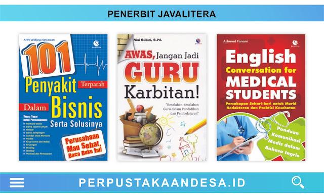 Daftar Judul Buku-Buku Penerbit Javalitera