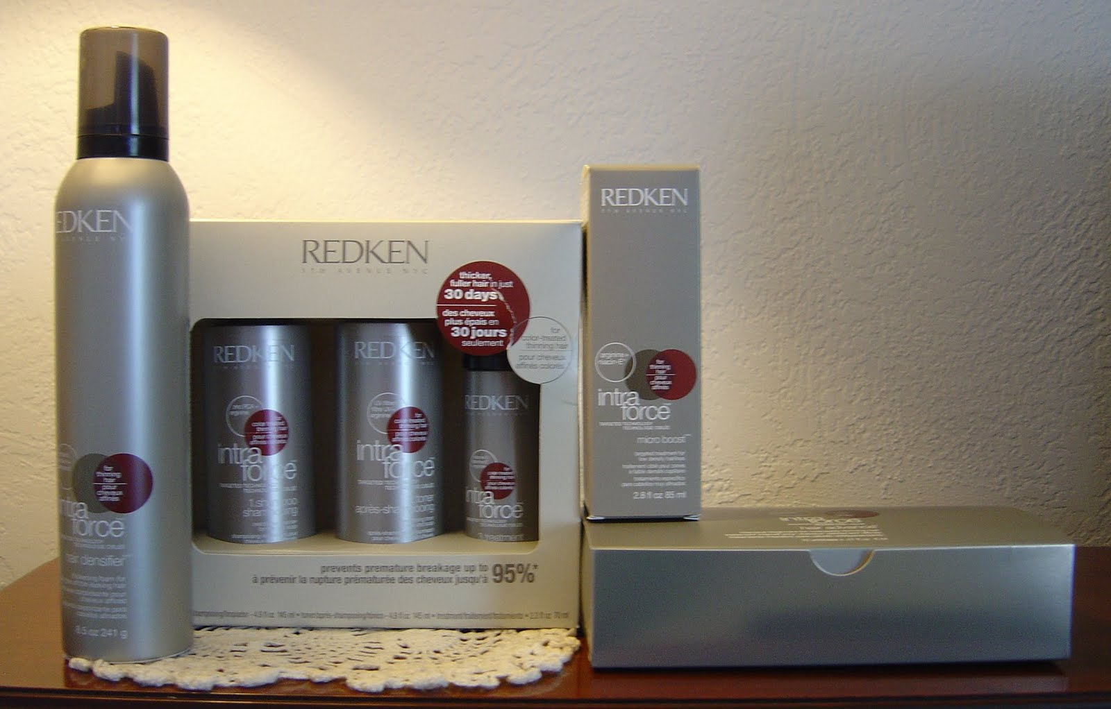 Redken Intra Force Hair Care Line