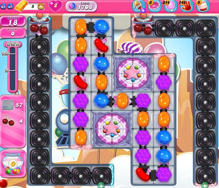 Candy Crush Saga 1708