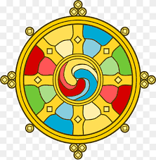 Roda do Dharma - O Caminho Óctuplo.