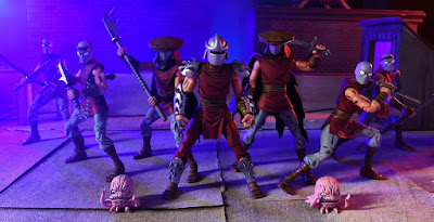 New York Comic Con 2016 Exclusive Teenage Mutant Ninja Turtles Eastman & Laird Edition Villains Action Figure 4 Pack by NECA