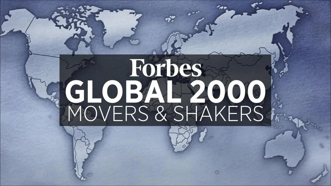 Forbes nombró a las diez empresas más grandes del mundo