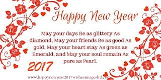 Happy New Year 2017 Warm wishes