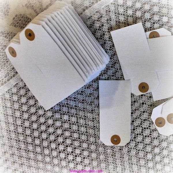 Faça você mesma: Etiquetas artesanais (P.A.P. - D.I.Y.)