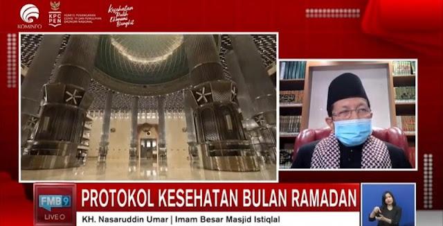 Strategi Memutus Rantai Penyebaran Covid-19 Di Ramadan, Masjid Istiqlal Batasi Jemaah Hanya 1 Persen