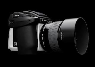 Cámara de fotos Hasseblad H5D de Formato Medio