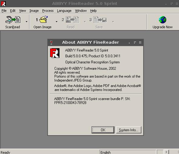 How to install ABBYY Fine Reader 5.0 (OCR) on Archlinux