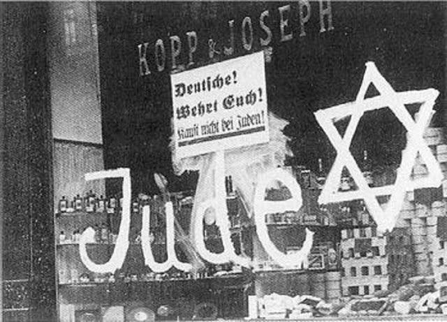 La Noche de los Cristales Rotos, la larga noche del antisemitismo que llega hasta hoy