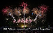 2020 Philippine International Pyromusical Competition Schedule