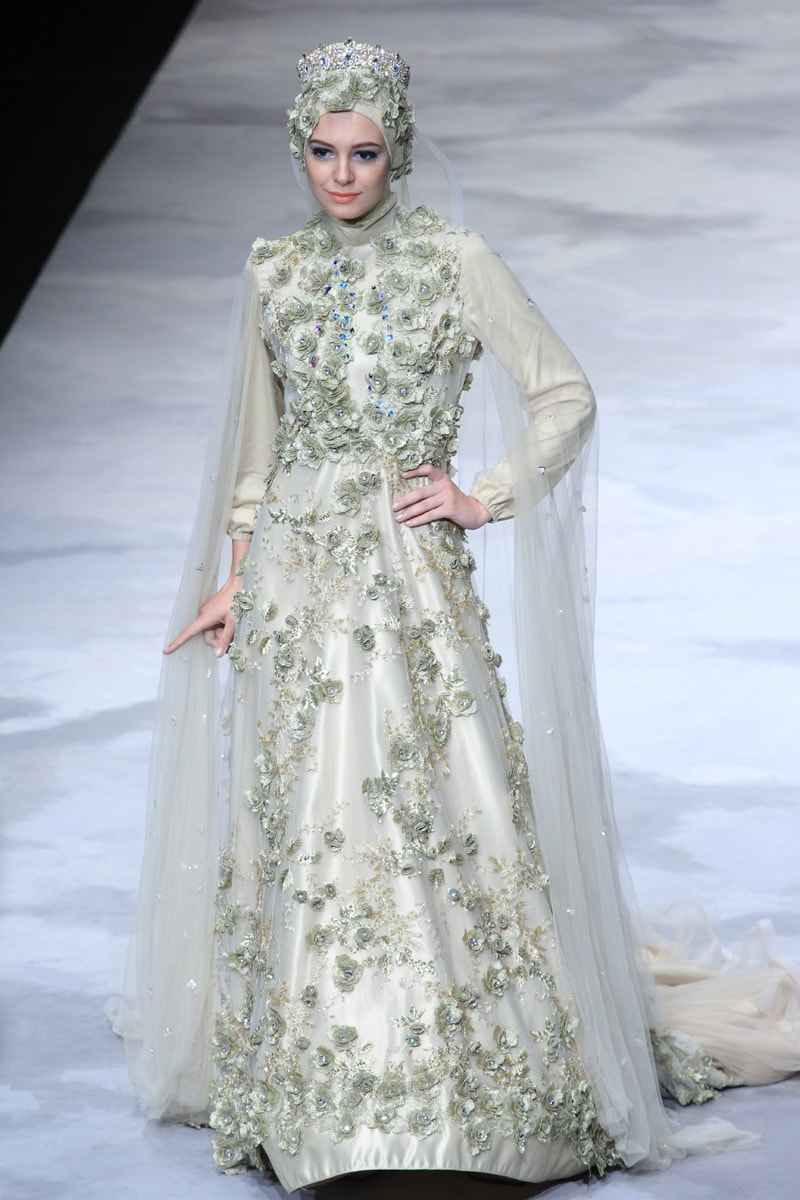 muslim wedding dress models and syari muslim wedding dress Muslim Wedding Dress Models and Syar i Latest Trend