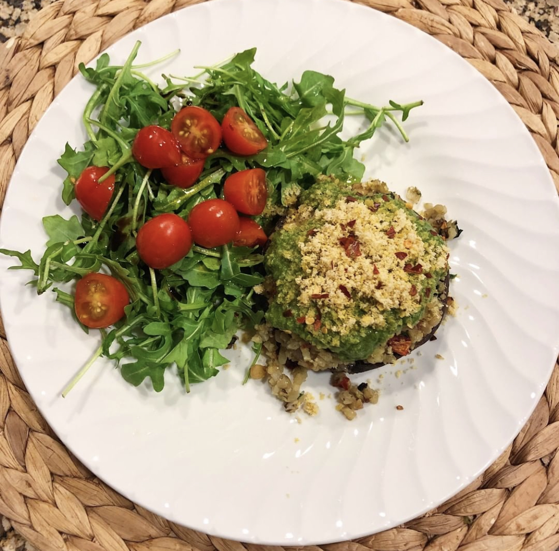 Easy healthy recipe. Weeknight meal idea. Easy meal idea.