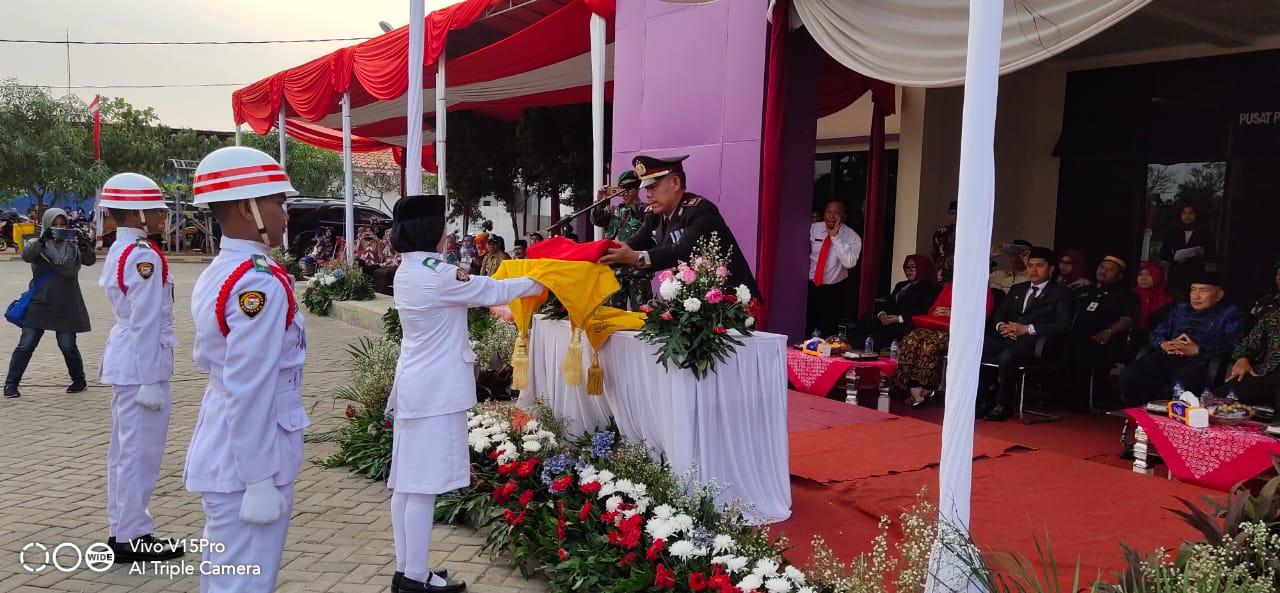 Kapolsek Pakuhaji Pimpin Upacara Peringatan HUT RI Ke 74